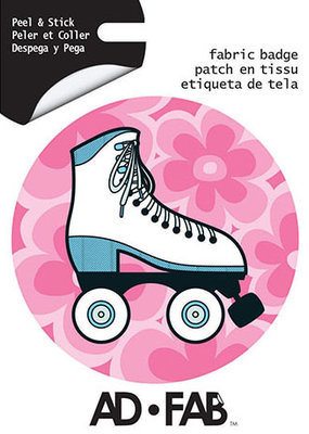 Ad-Fab Adhesive Fabric Patch Roller Skate