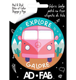 Ad-Fab Adhesive Fabric Patch Explore Galore
