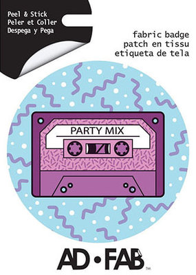 Ad-Fab Adhesive Fabric Patch Cassette Tape