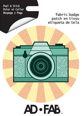 Ad-Fab Adhesive Fabric Patch Camera