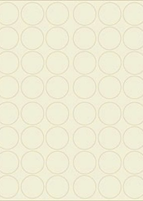 "Waste Not Soft White 1.25"" Circle Labels"