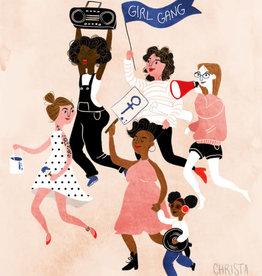 Christa Pierce Card Girl Gang