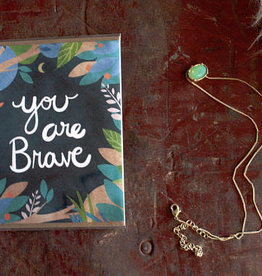 Christa Pierce Card You Are Brave