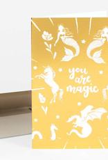 Wild Optimist Card You Are Magic