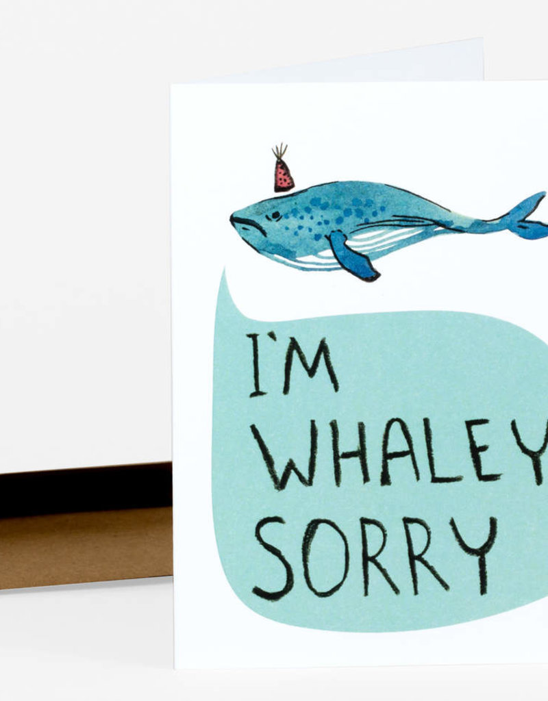 Christa Pierce Card I Am Whaley Sorry