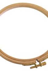 "Darice Beechwood Embroidery Hoop Wooden 6"""