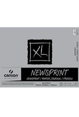 Canson Newsprint Rough 18 x 24 Inch 100 Sheet