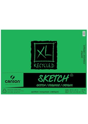 "Canson XL Recycled Sketch Pad - 18"" x 24"" 50 Shts"