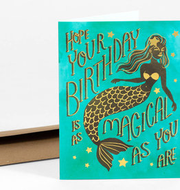 Christa Pierce Card Birthday Mermaid