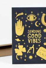 Wild Optimist Card Sending Good Vibes