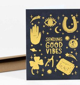 Christa Pierce Card Good Vibes Only
