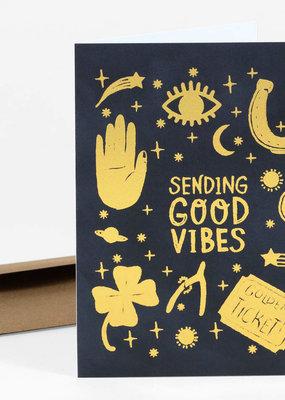 Christa Pierce Card Sending Good Vibes