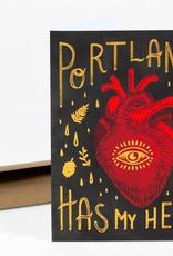 Wild Optimist Card Portland Has My Heart