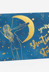 Wild Optimist Card You Are A Shooting Star