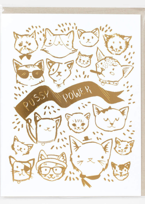 Wild Optimist Card Pussy Power