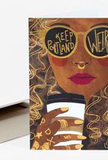 Wild Optimist Card Keep Portland Weird