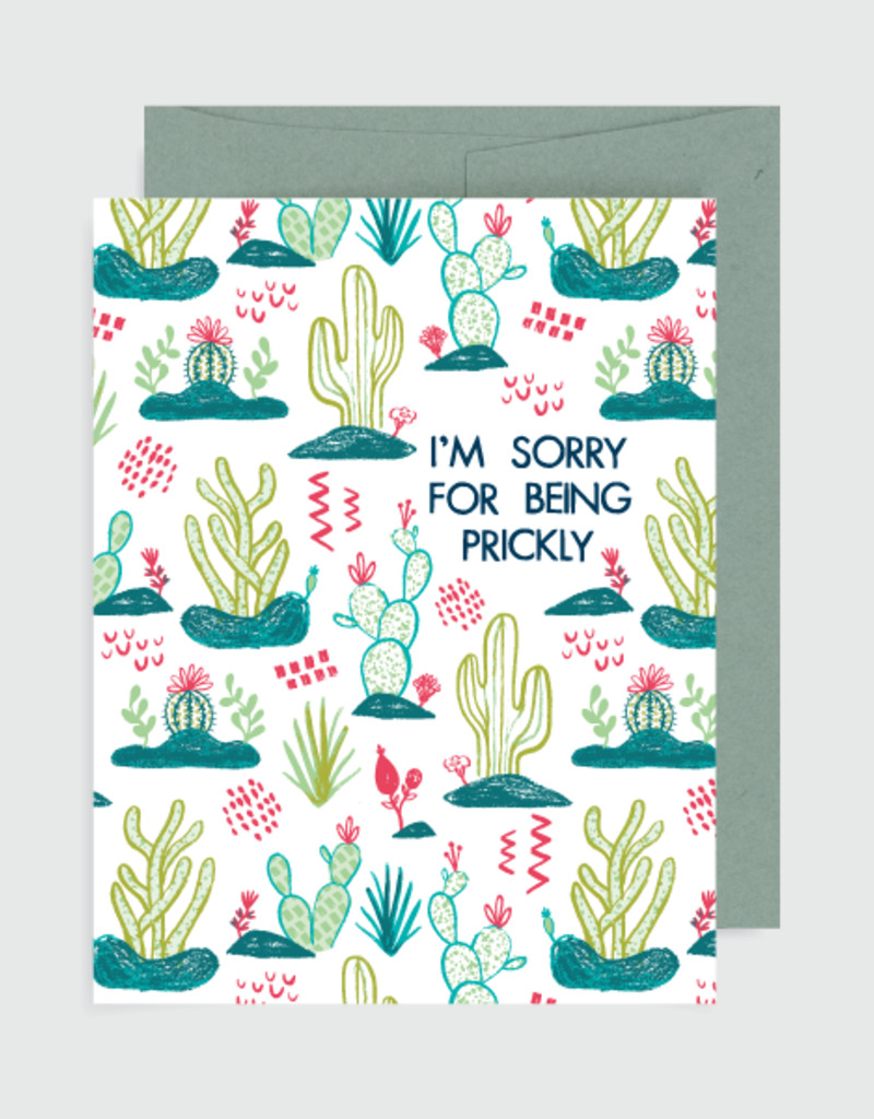 Alison Cole Card I'm Sorry for Being Prickly