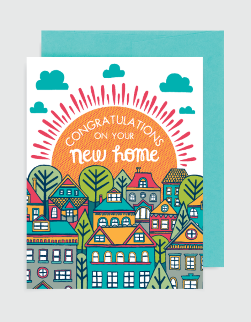 Alison Cole Card Congratulations on Your New Home