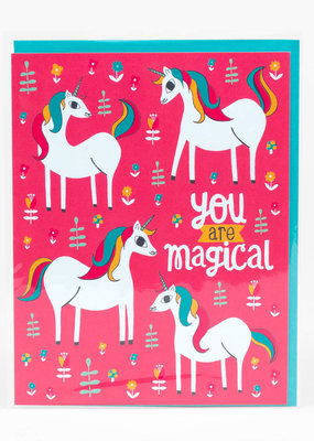 Alison Cole Card You Are Magical Unicorn