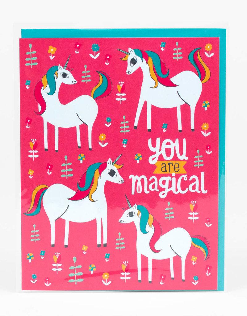 Alison Cole Card You Are Magical Unicorn
