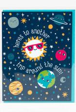 Alison Cole Card Trip Around The Sun