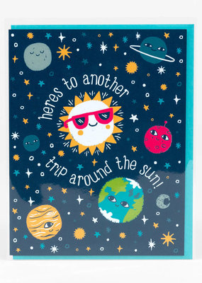 Alison Cole Card Trip Around The Sun