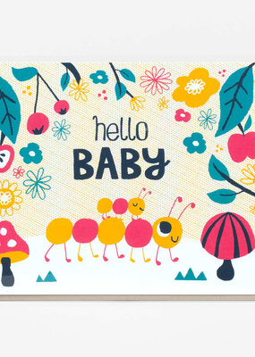 Alison Cole Card Hello Baby