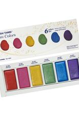 Kuretake Zig Gansai Tambi Gem Watercolors 6 Color Set