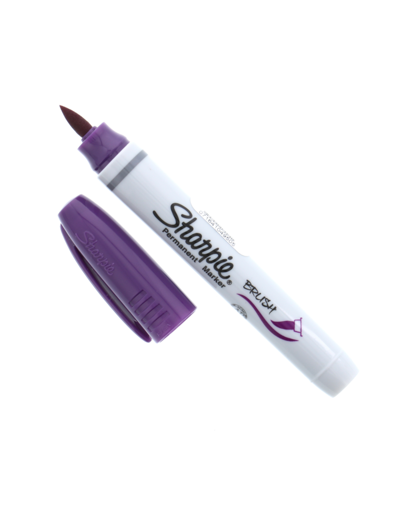 Sharpie Sharpie Permanent Marker Brush Tip