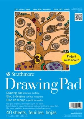 Strathmore Strathmore Kids Drawing Paper Pad 9 x 12 Inch