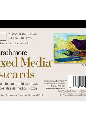 Strathmore Strathmore Mixed Media Postcards 4 x 6 Inch