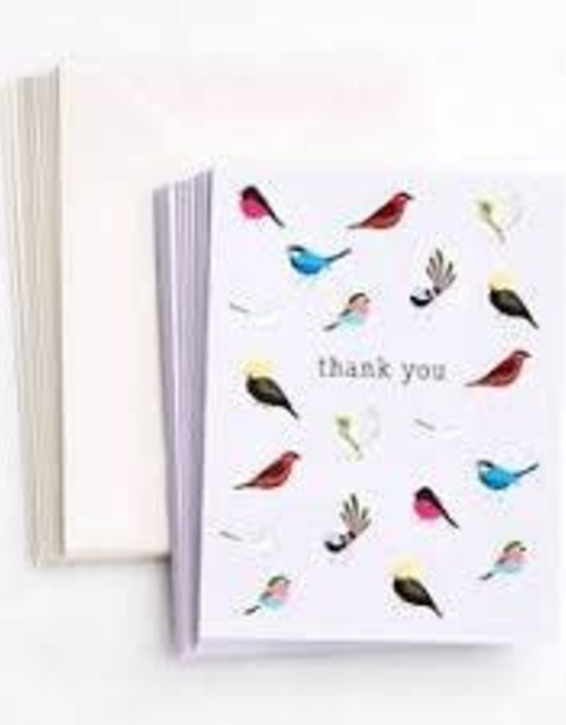 Waste Not Boxed Cards Birds of a Feather Thank You