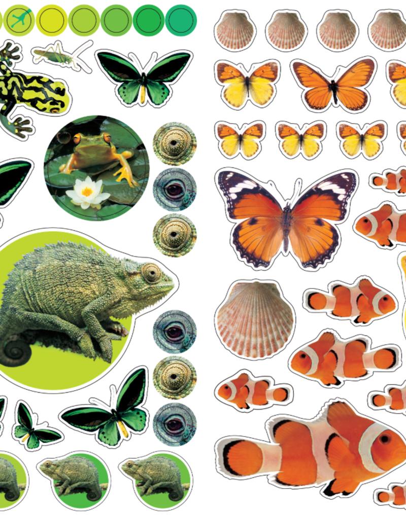 Workman Eyelike Stickers Animals