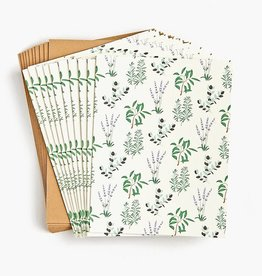 Waste Not Boxed Cards Herbs