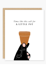 Party of One Card Little Pot