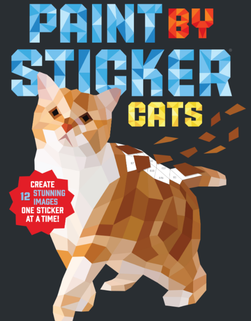 Workman Paint By Sticker Cats