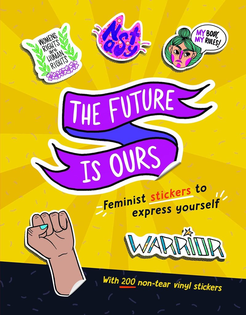 Workman Sticker Book The Future is Ours