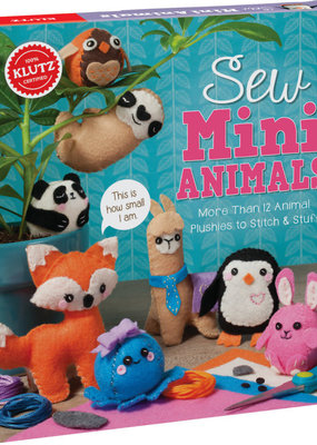 Klutz Sew Mini Kit Animals