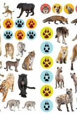Workman Eyelike Stickers Wild Animal