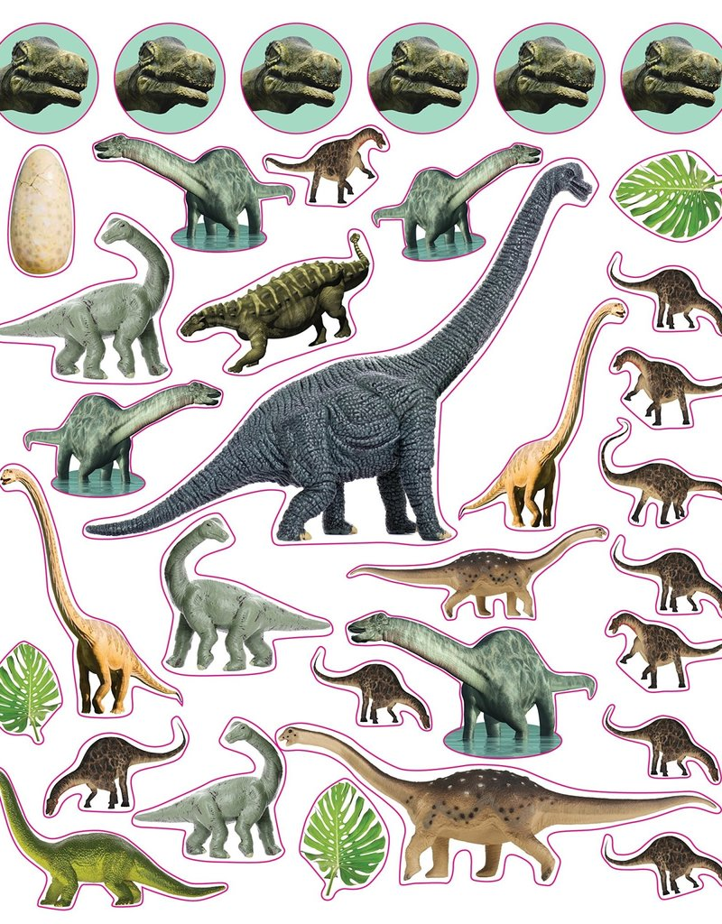 Workman Eyelike Stickers Dinosaurs