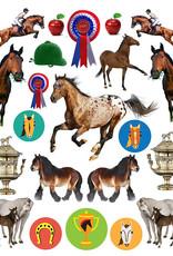 Workman Eyelike Stickers Horses