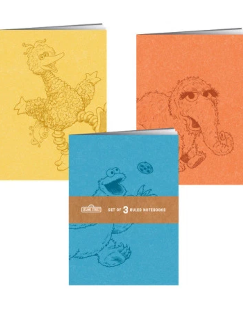 RP Studio Notebook Sesame Street Set Of 3