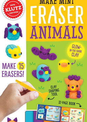Klutz Make Mini Eraser Animals