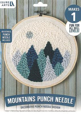 Leisure Arts Punch Needle Mountains Kits