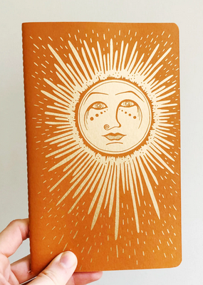 The Rainbow Vision Notebook Sun Orange