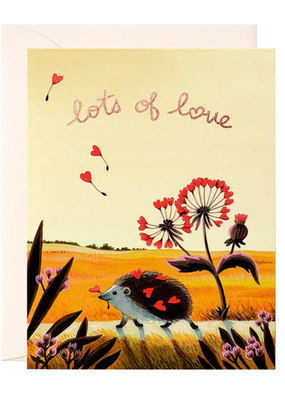 joo joo paper Card Hedgehog Love
