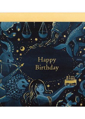 joo joo paper Card Zodiac Birthday