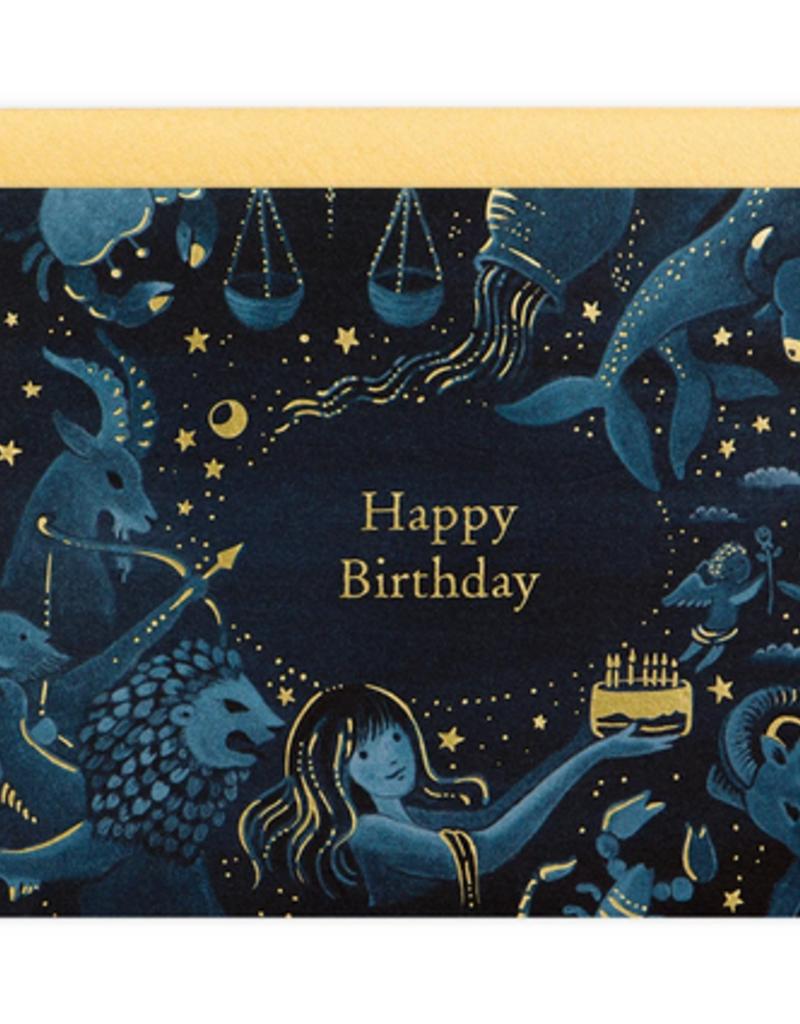 joo joo paper Card Zodiac Birthday