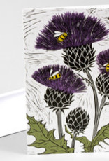 Mimi Williams Card Bees And Thistles