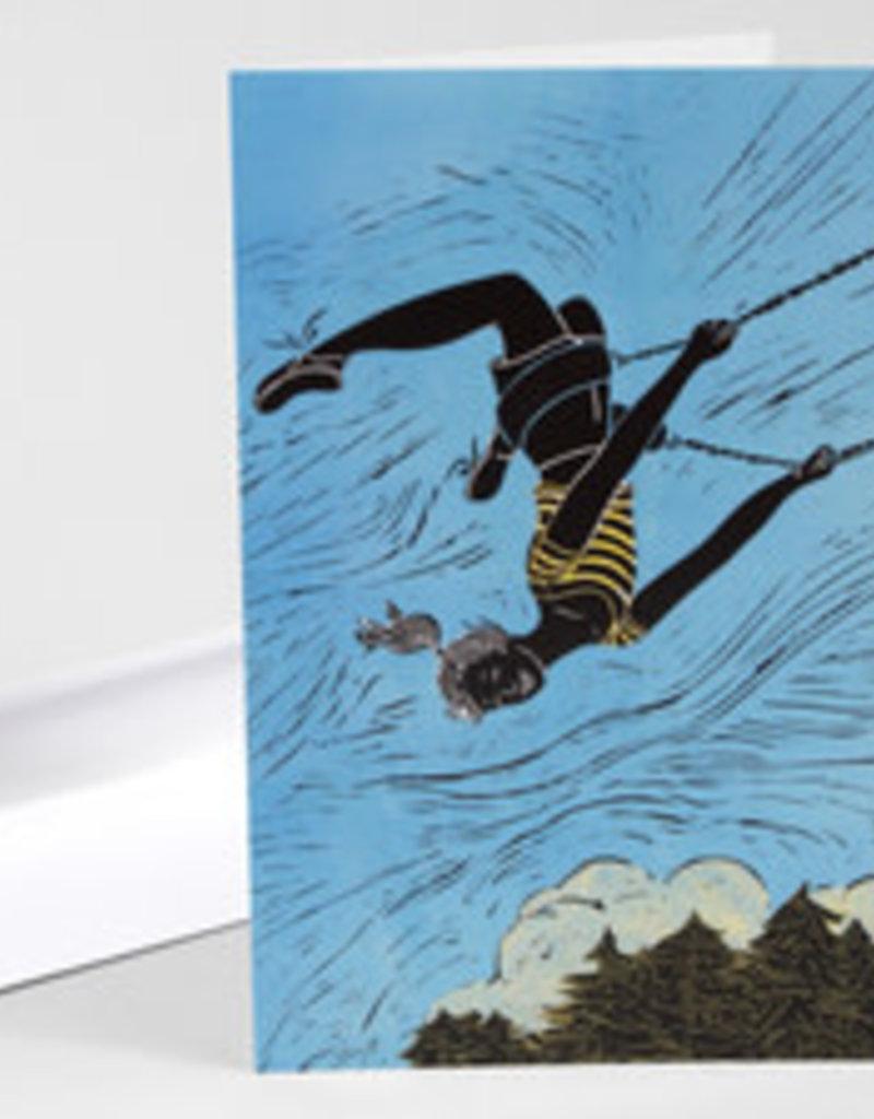 Mimi Williams Card Flying Free